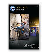 HP Q8008A Fejlesztett fényes fotópapír, 250g, 10x15, 60 lap, szegély nélküli nyomtatáshoz