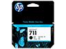 HP 711 fekete tintapatron eredeti CZ129A T120 T125 T130 T520 T525 T530 38 ml