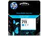 HP 711 ciánkék tintapatron eredeti CZ130A T120 T125 T130 T520 T525 T530 29 ml