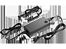 HP H6Y84AA 90 W-os vékony, kombinált adapter USB csatlakozóval