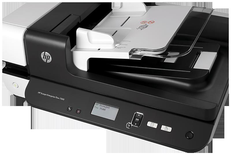 HP L2725B Scanjet Enterprise Flow 7500 síkágyas lapolvasó