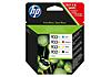 HP 932XL 933XL C2P42AE 4 darabos kiszerelésű csomag 6100 6700 7110 7510 7610 7612 ciánkék/bíborvörös/sárga 6100 6700 7110 tintapatron OfficeJet Pro (1000/3x825 old.)