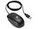 HP QY777AA optikai USB egér 3 gombos