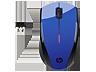 HP N4G63AA X3000 kobaltkék vezeték nélküli egér