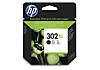 HP 302XL fekete tintapatron eredeti F6U68AE DJ 1110 2130 3630 OfficeJet 3830 4650 Envy 4520 (480 old.)
