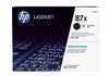 HP 87X CF287X nagy kapacitású fekete eredeti LaserJet M501 M506 M527 tonerkazetta (18000 old.)