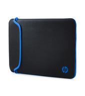 HP V5C27AA 35,56 cm-es (14 hüvelykes) fekete/kék neoprén tok