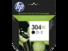 HP 304XL fekete tintapatron eredeti N9K08AE DeskJet 2620 2630 3720 3730 (300 old.)