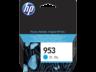 HP 953 ciánkék tintapatron eredeti F6U12AE OfficeJet 7730  77220 7740 8210 8715 8218 8710 8720 8725 8730 (700 old.)