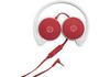 HP W1Y21AA 2800 vörös színű sztereó mikrofonos fejhallgató