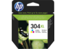 HP 304XL háromszínű tintapatron eredeti N9K07AE DeskJet 2620 2630 3720 3730 (300 old.)