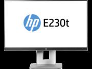HP W2Z50AA EliteDisplay E230t 58,42 cm-es (23 hüvelykes) érintőképernyős monitor
