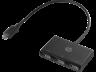 HP Z8W90AA USB-C–USB-A elosztó