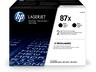 HP 87X CF287XD 2 db nagy kapacitású fekete eredeti LaserJet M501 M506 M527 tonerkazetta (2*18000 old.)