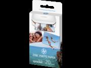 HP W4Z13A Sprocket fotópapir Sprocket 20lap hordozható kis nyomtatóhoz, egyedi 5.0 x 7.6 cm