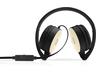 HP H2800 sztereó mikrofonos fejhallgató (fekete és selymes arany)