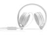 HP 2AP95AA H2800 sztereó mikrofonos fejhallgató (fehér és halszürke)