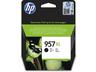 HP 957XL extrakapacitású fekete tintapatron eredeti L0R40AE OfficeJet Pro 7730 7740 8210 8218 8720 8725 8730  (3000 old.)