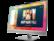 HP 1FH51AA EliteDisplay E273m 68,58 cm-es (27 hüvelykes) monitor
