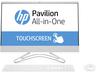 """HP 24-f0002nn AiO 4UA14EA 23.8"""" TOUCH CI5/8250U 8GB 256GB SSD + 1TB NVIDIA GT MX110 2GB FreeDOS fehér érintőképernyős All-in-One számítógép / PC"""