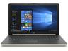 """HP 15-da0041nh 4TU44EA 15.6"""" CI5/8250U 8GB 256GB SSD Intel UHD W10H arany színű Laptop / Notebook"""