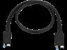 HP 70 cm Power 3XB95AA /Thunderbolt A/V/Power/Data Transfer Cable for Audio/Video Device, Docking Station - First End: 1 x Male Power, First End: 1 x Male Thunderbolt - Second End: 1 x Male Power, Second End: 1 x Male Thunderbolt