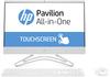 """HP 22-c1000nn 8BP18EA 21.5"""" FHD Touch Ryzen3/3200U 8GB 512GB SSD AMD Radeon RX Vega3 FreeDOS fehér érintőképernyős All-in-One számítógép / PC"""