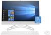 "HP 22-c0004nn 8BP98EA 21.5"" FHD Touch CEL/J4005 4GB 256GB SSD FreeDOS fehér érintőképernyős All-in-One számítógép / PC"