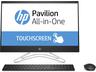 """HP 24-f0001nn AiO 4TY86EA 23.8"""" TOUCH CI5/8250U 8GB 256GB SSD Intel HD FreeDOS fekete érintőképernyős All-in-One számítógép / PC"""