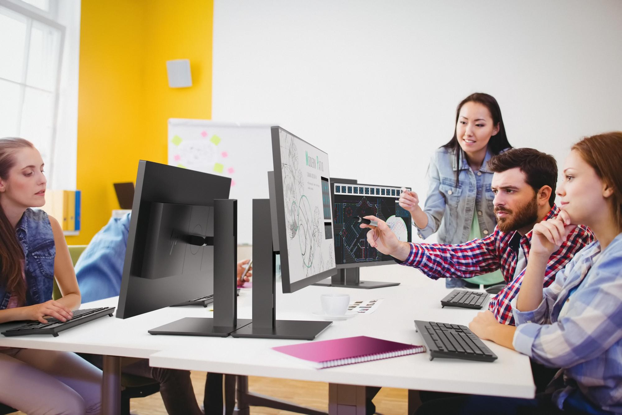 HP 1JS10A4 Z27n G2 68,58 cm-es (27 hüvelykes) 2560x1440@60Hz monitor