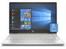 "HP Pavilion x360 14-cd0001nh 4TY12EA 14"" Touch Ci3/8130U 4GB 256GB SSD Intel UHD W10h arany színű Laptop / Notebook"