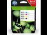 HP 903XL nagy kapacitású fekete ciánkék bíbor sárga tintapatron eredeti kombinált csomag 3HZ51AE Officejet 6950, 6960, 6970 (4x825 old.)