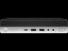 HP 3XW93EA HP ProDesk 600 G4 DM Core i5-8500T 2.1GHz, 8GB, 256GB SSD, Win 10 Prof.Desktop Computer - Intel Core i5 (8th Gen) i5-8500T 2.10 GHz - 8 GB DDR4 SDRAM - 256 GB SSD - Windows 10 Pro 64-bit - Desktop Mini - Intel UHD Graphics 630 Graphics - W