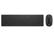 HP 4CE99AA Pavilion 800 vezeték nélküli billentyűzet és egér (fekete)