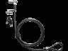 HP 1AJ41AA Nano kulcsos kétfejes kábelzárak