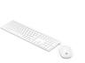 HP 4CF00AA Pavilion 800 vezeték nélküli fehér billentyűzet és egér