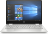 "HP Pavilion x360 14-dh0037nh 14.0"" Touch CI5/8265U-QC 8GB 512GB SSD Nvidia GeForce MX130 2GB W10H Natural silver Laptop / Notebook"