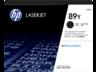 HP 89Y CF289Y extranagy kapacitású fekete eredeti LaserJet M507 M528 tonerkazetta (20000 old.)