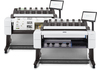 HP 3XB78A DesignJet T2600 36-in PostScript Multifunction Printer