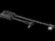 HP 6LX61AA 4,5 mm-es és USB-C-dokkolóadapter G2