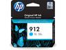 HP 912 ciánkék tintapatron eredeti 3YL77AE OfficeJet Pro 8010 8020 8030 (315 old.)