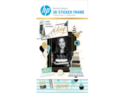 HP 6RW47A Moment Makers 2 x 3-in (5 x 7.6-cm) 3D Birthday Easel Frame