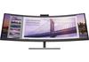 HP 5FW74AA S430c 43,4 hüvelykes ívelt, ultraszéles látószögű PIP kettős WUXGA 3840x1200@60Hz monitor