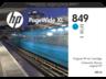 HP 849 1XB39A 400-ml ciánkék eredeti tintapatron PageWide XL 3900