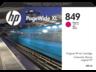 HP 849 1XB37A 400-ml bíbor eredeti tintapatron PageWide XL 3900