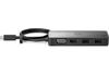 HP USB-C hordozható elosztó G2