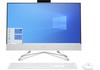 """HP AIO 24-df0012nn 26V91EA 23.8"""" Touch Ryzen5/3500U 8GB 512GB SSD W10H fehér többfunkciós számítógép / AiO PC"""