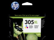 HP 305XL színes nagykapacitású tintapatron eredeti 3YM63AE DJ 2320 2710 2720 4120 4130 nyomtatóhoz (200 old.)
