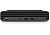 HP EliteDesk 805 G6 DM 21L27EA Ryzen5/Pro4650GE-3.3GHz 16GB 512GB W10P mini asztali számítógép / PC