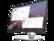 HP 9VF96AA EliteDisplay E23 G4 58,42 cm-es (23 hüvelykes)  1920x1080@60Hz USB HUB monitor